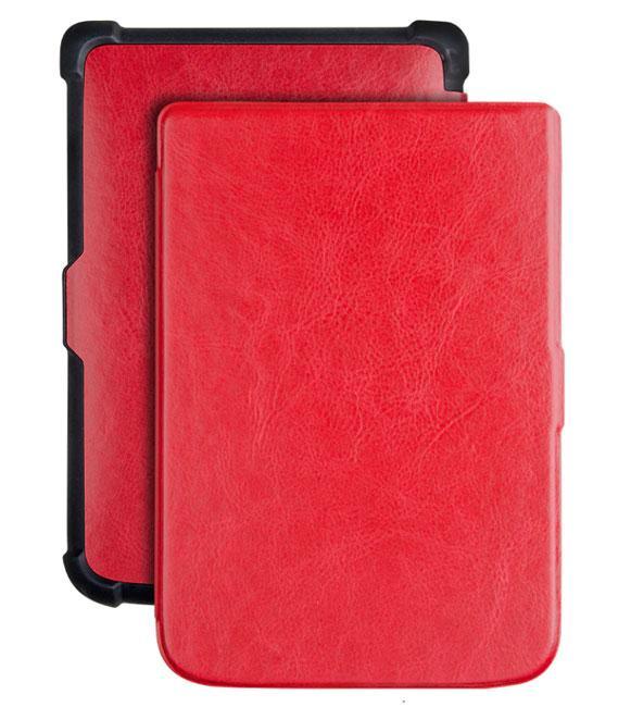 Обкладинка для електронної книги PocketBook 606 / 616 / 627 / 628 / 632 / 633 Slim - Red