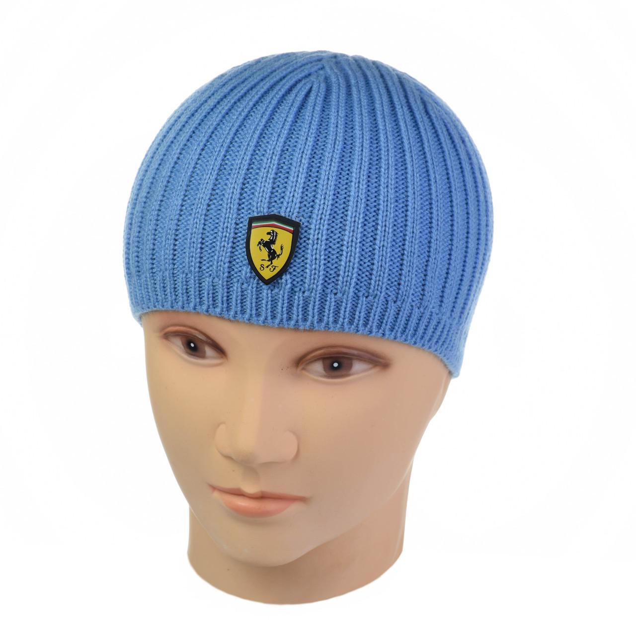 """Демисезонная шапка-сбавка """"Farrari"""""""