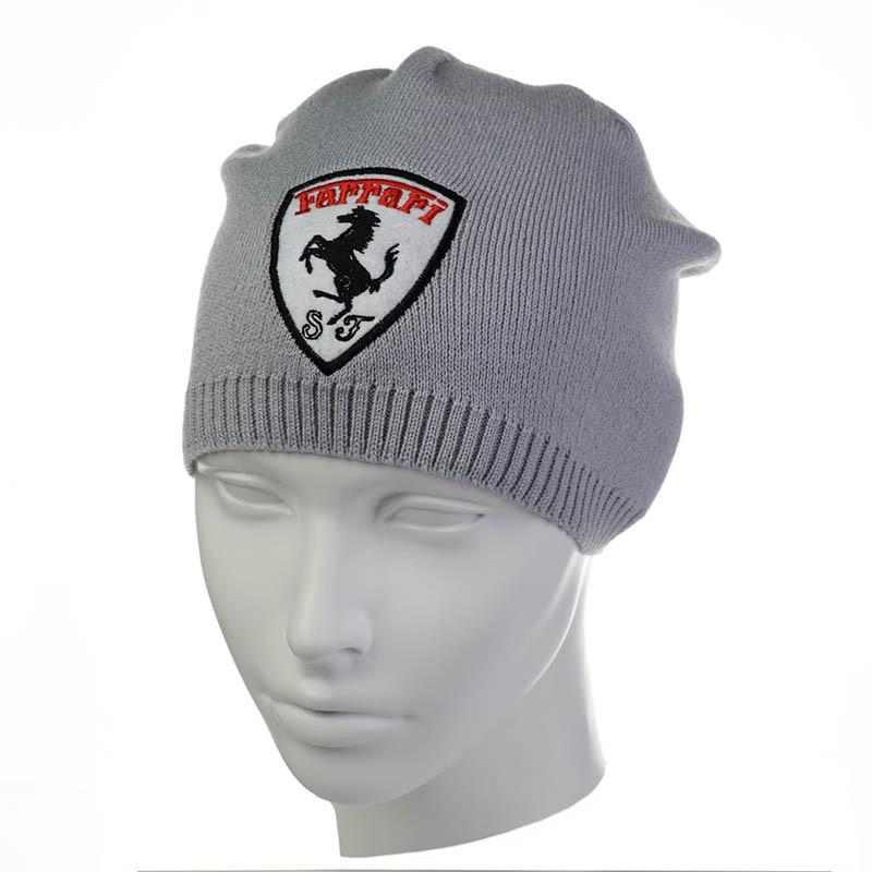 """Детская шапка """" Ferrari """""""
