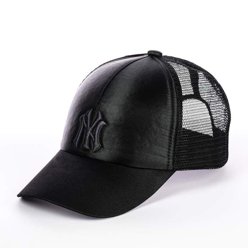 Кепка с сеткой - New York черный