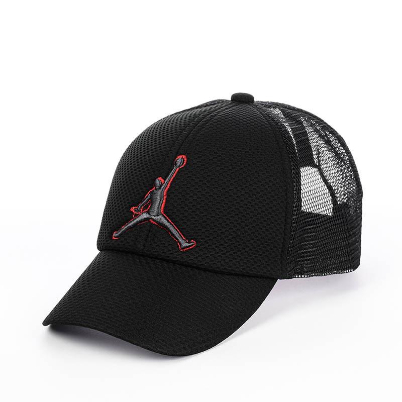 """Кепка бейсболка """"Jordan"""" с сеткой"""