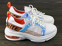 Белые кроссовки Sopra 93-13 WHITE 36 23 см, фото 1