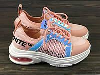 Розовые кроссовки Sopra 93-13 PINK 36 23 см, фото 1