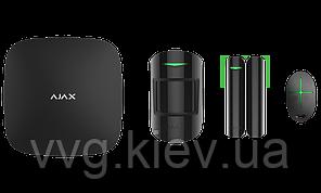 Стартовый комплект системы безопасности Ajax StarterKit black