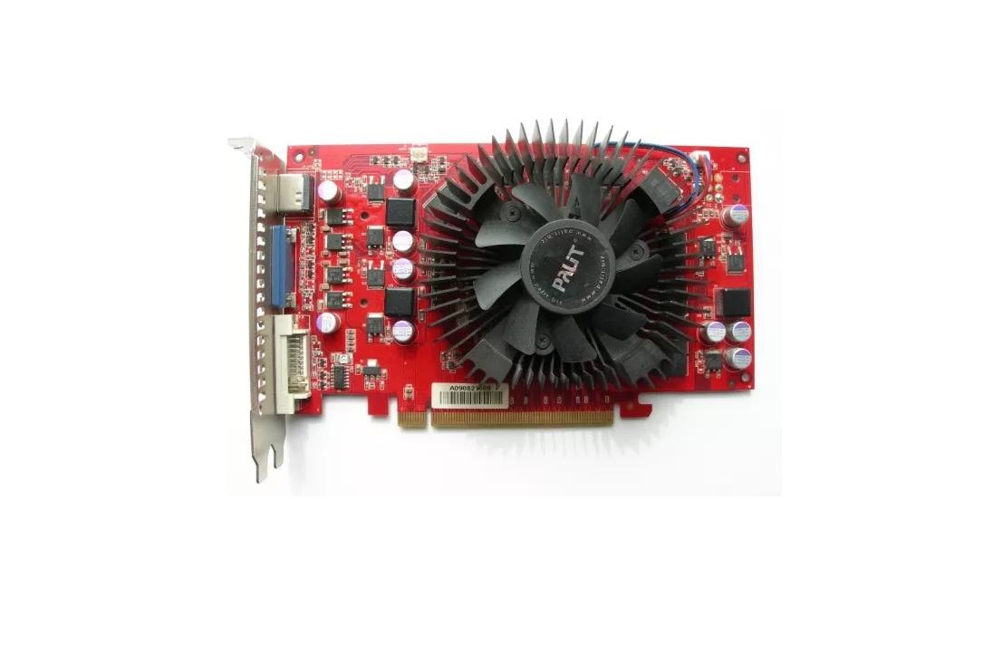 """Видеокарта PALIT GeForce 9800GT 1024Мб (NE39800TFHD02) """"Over-Stock"""" Б/У"""