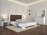 Кровать Arbordrev Подиум ромбы (180*190) бук, фото 6