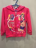Трикотажный костюм для девочки 36 мес( 3 г), фото 2