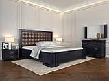 Кровать Arbordrev Амбер квадраты без ПМ (120*200) бук, фото 3