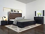 Кровать Arbordrev Амбер ромбы без ПМ (140*190) сосна, фото 3