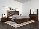 Кровать Arbordrev Амбер ромбы без ПМ (140*190) сосна, фото 6
