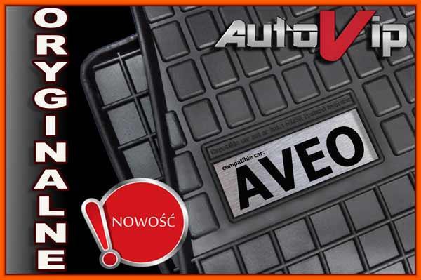 Резиновые коврики CHEVROLET AVEO 2011-  с логотипом