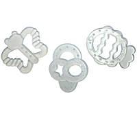 Прорізувач для зубів силіконовий (4 види)