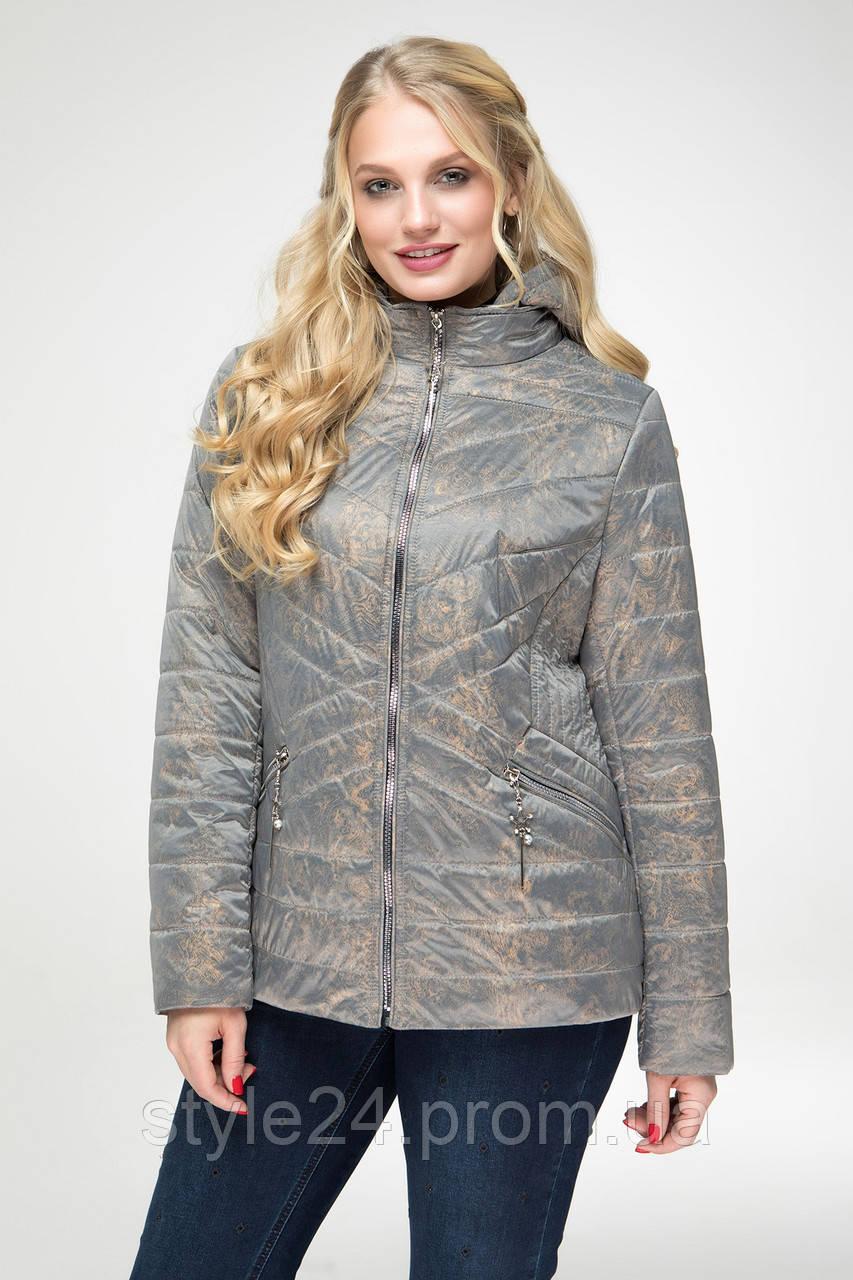ЖІноча осіння куртка великих розмірів (48-58)  продажа e1045b5e2c9cf