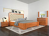 Кровать Arbordrev Амбер ромбы без ПМ (180*200) бук, фото 4