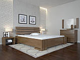 Кровать Arbordrev Домино без ПМ (140*190) бук, фото 3
