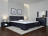 Кровать Arbordrev Домино без ПМ (140*190) бук, фото 4