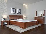 Кровать Arbordrev Домино без ПМ (140*190) бук, фото 6
