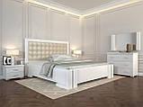 Кровать с механизмом Arbordrev Амбер квадраты (160*190) сосна, фото 2