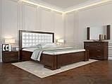 Кровать с механизмом Arbordrev Амбер квадраты (160*190) сосна, фото 6