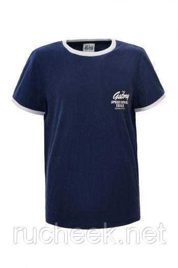 Детские футболки для мальчика рост 98 -128, Glo-story BPO-2291, Венгрия 122 т.синий
