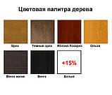 Кровать Arbordrev Регина люкс ромбы без ПМ (120*190) бук, фото 4