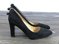 Классические замшевые туфли Fabio Monelli X223-K910-2 BL 36 23,5 см, фото 1