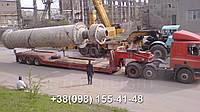 Международные перевозки негабаритных грузов Украина - Австрия. Аренда трала. Негабарит