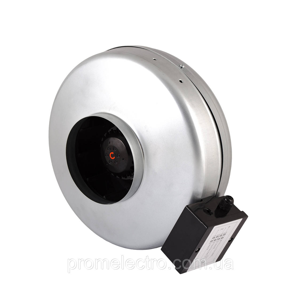 Вентилятор канальный для круглых каналов Турбовент ВК 125