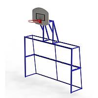 Ворота игровые комбинированные (футбол и баскетбол)
