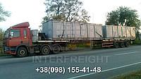 Международные перевозки негабаритных грузов Украина - Болгария. Аренда трала. Негабарит