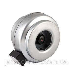 Вентилятор канальный для круглых каналов Турбовент ВК 200, фото 2