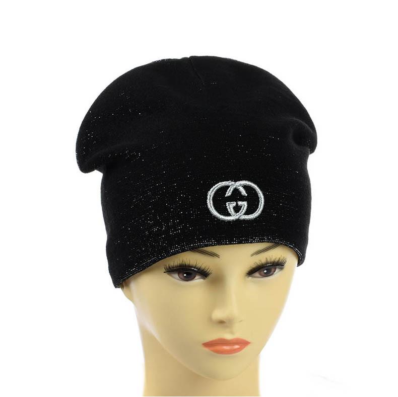 """Подростковая шапка из люрекса  """"Gucci"""""""