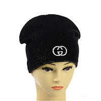 """Подростковая шапка из люрекса  """"Gucci"""", фото 1"""