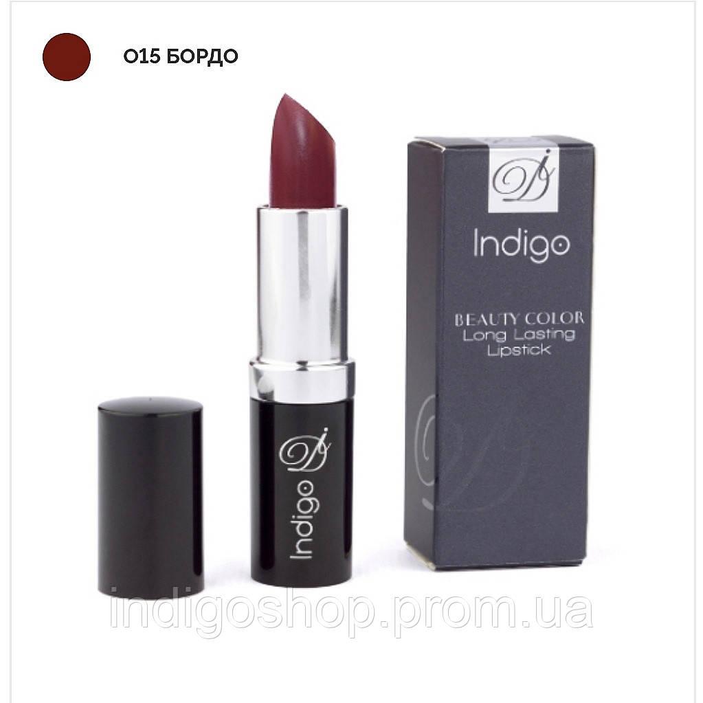 Помада Beauty Color Long Lasting Lipstick (4 гр.) Бордо