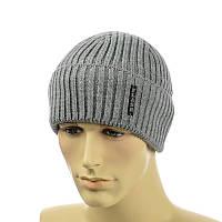 Мужская шапка с отворотом, фото 1