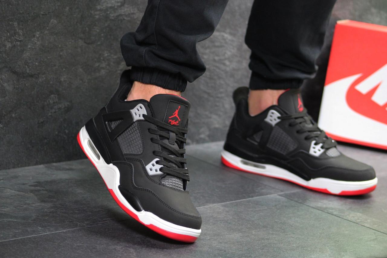 7e51cf2cc9b312 Мужские спортивные кроссовки в стиле Nike Air Jordan Flight, черные -  Интернет магазин