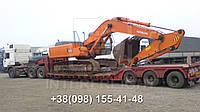 Международные перевозки негабаритных грузов Украина - Германия. Аренда трала. Негабарит