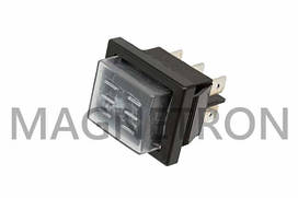 Переключатель клавишный (3 позиции) для обогревателей RK1-01 16A 250V (code: 00905)