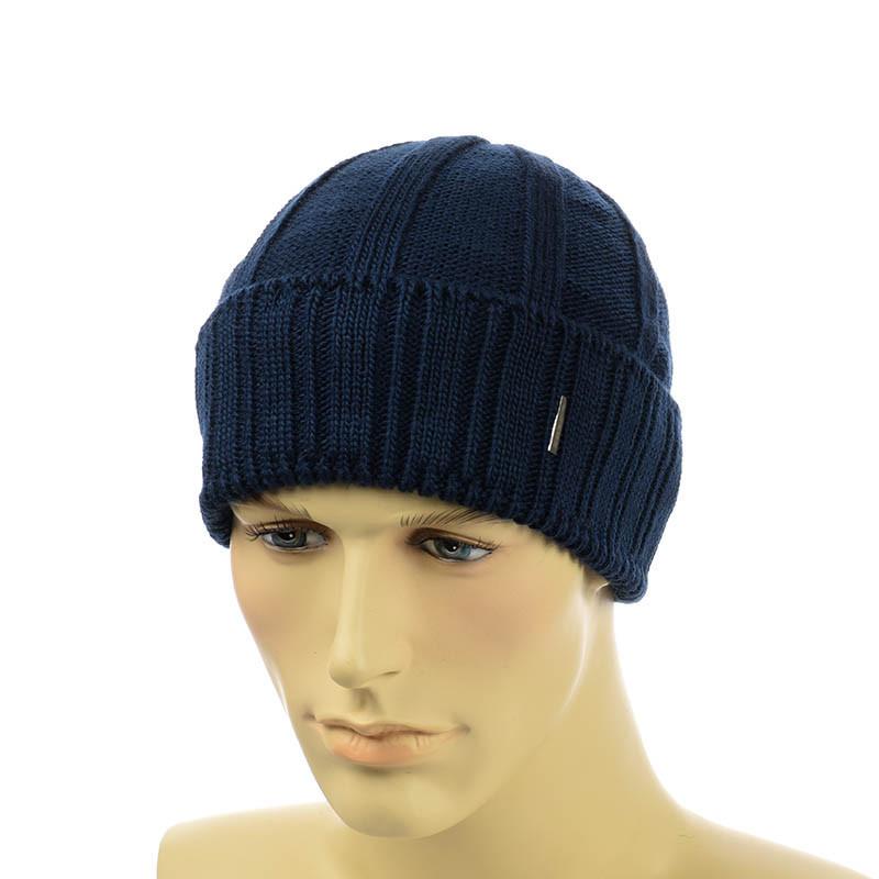 Мужская шапка  с отворотом VARG