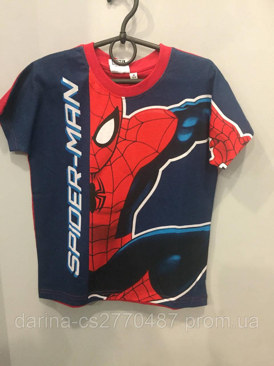 Детская футболка с принтом для мальчика 6 л