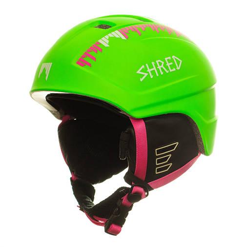 Шолом гірськолижний Shred Django Phony 54-58 Green, фото 2