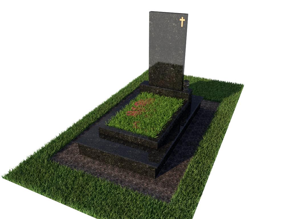 Памятник гранитный одинарный стандарт