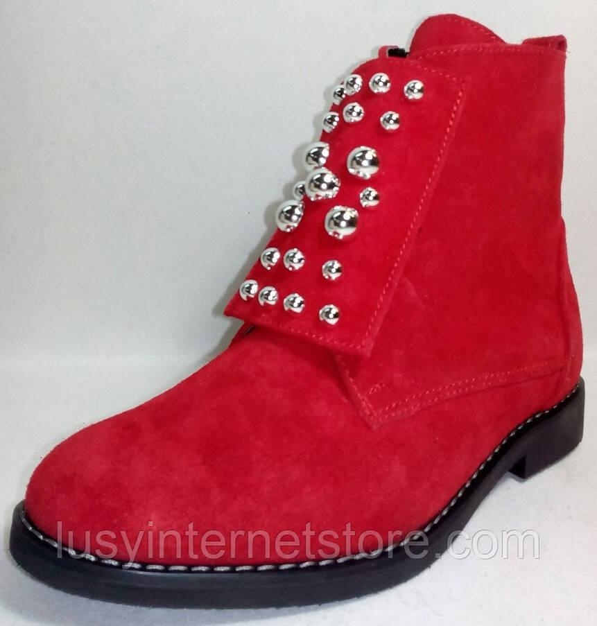 31884e0f4 Ботинки демисезонные для девочки от производителя модель ОД21-1опт ...