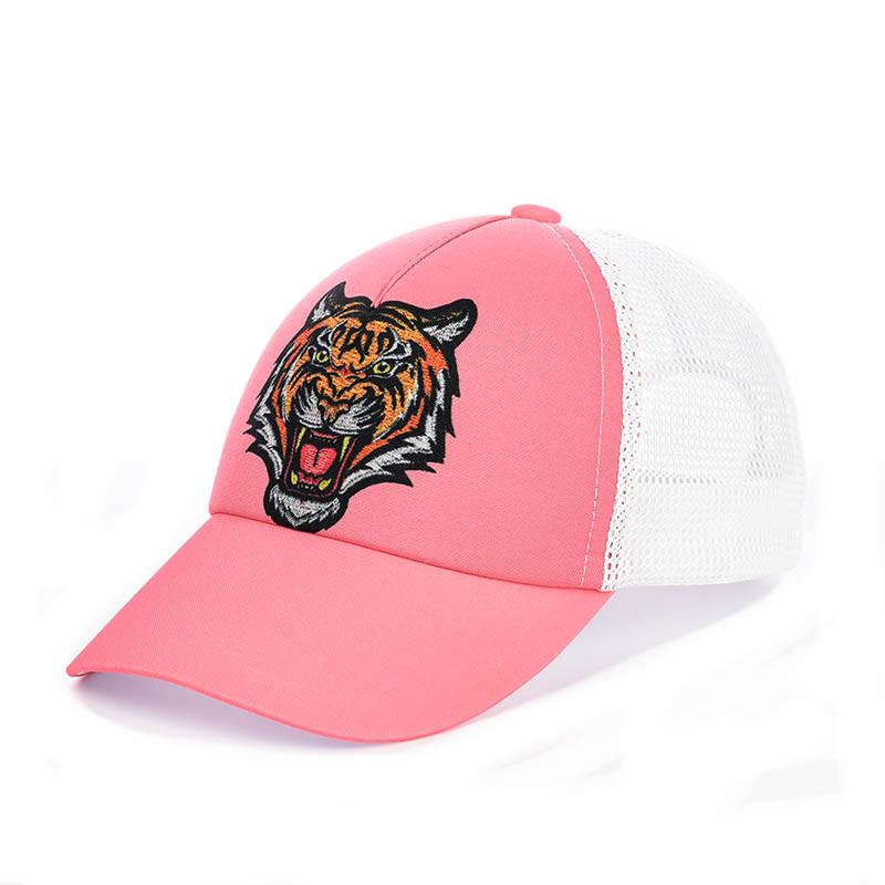 """Бейсболка """"Kenzo"""" с сеткой  розовый"""