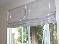 Римские шторы из  ткани