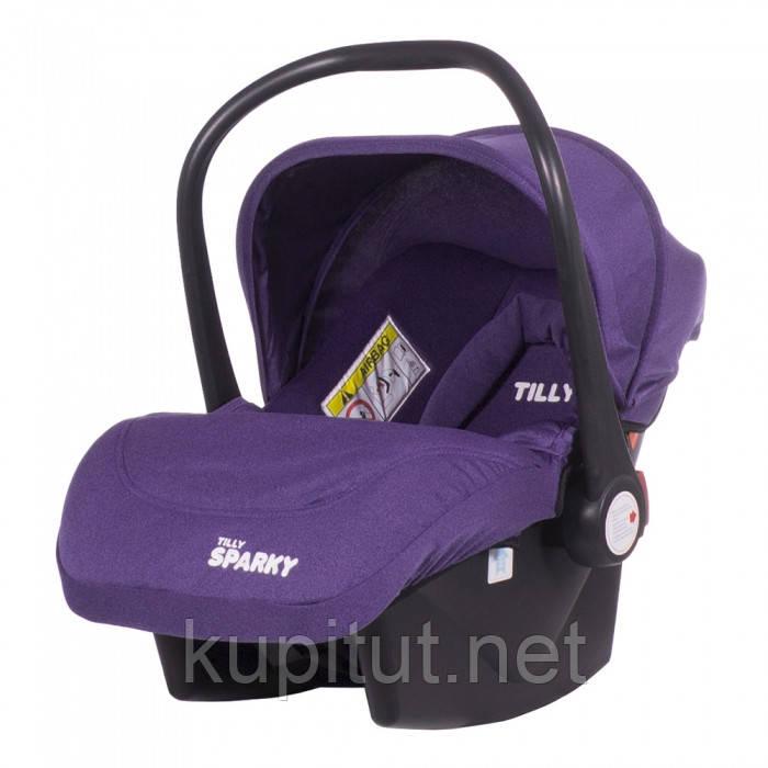 Автокресло TILLY Sparky T-511/1 Фиолетовый
