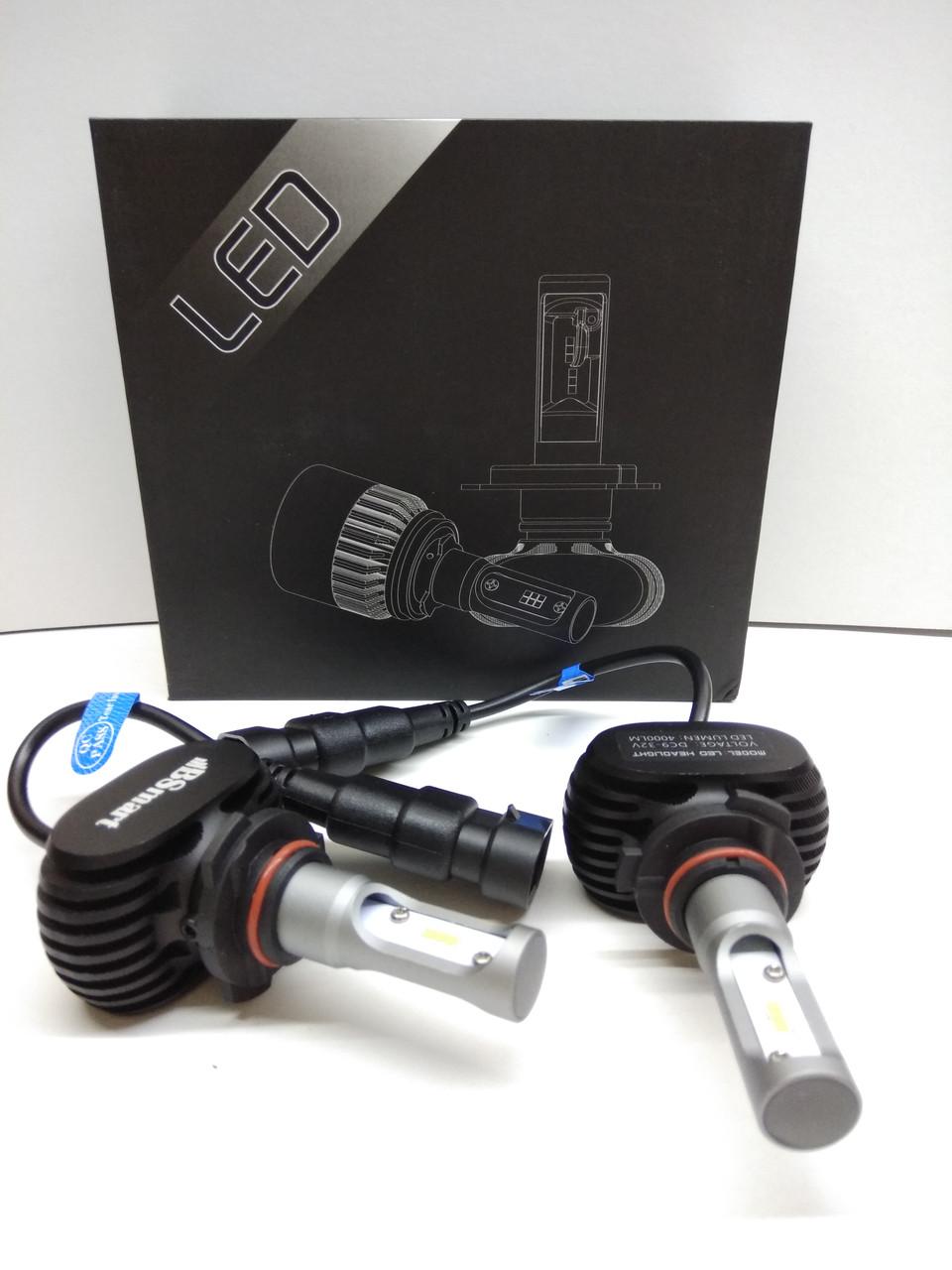 Автолампы LED S1 CSP(Южная Корея), HB3 (9005), 8000LM, 50W, 9-32V
