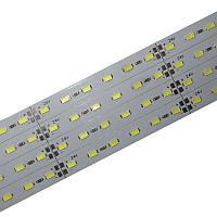 Полоса алюминевая 24V 5630 72smd (resistor 390) 10 mm WHITE 6000K