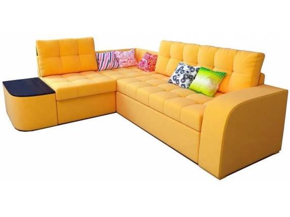 Угловой диван Барселона с высокой спинкой, дельфин, фото 2