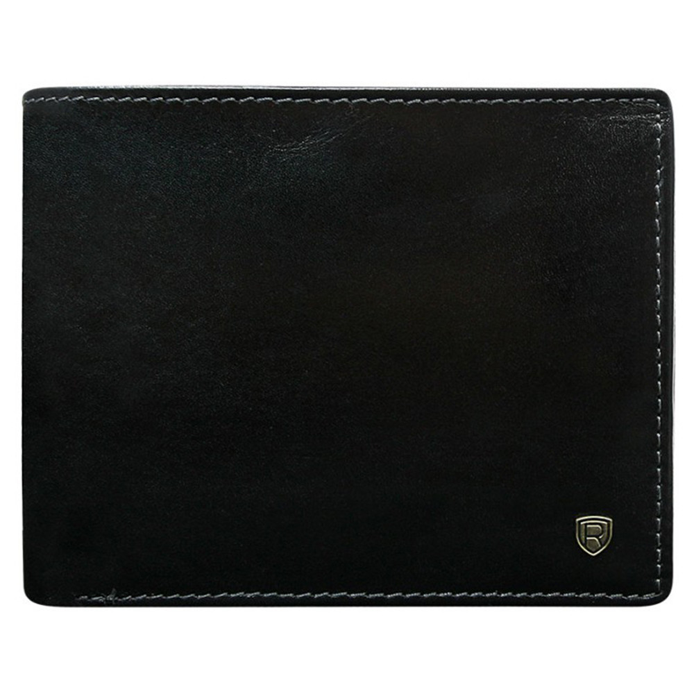Мужское кожаное портмоне Rovicky N992-RVT Black